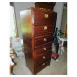 Tall Wood Dresser