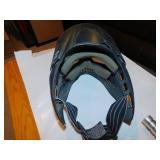 Stingray Clear Paintball Marker Gun/Helmet