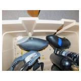 CO2 Tanks/Automatic Loaders/Helmet