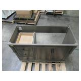 Home Decorators Collection Naples 48 in. W Vanity Cabinet Only in Distressed Grey NADGA4821D