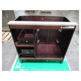 HDC 37 in. W x 35 in. H x 22-1/2 in. D Vanity in Espresso MD-V1201