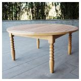 Cambridge Casual Baytown Round Wood Outdoor Coffee Table HQ-17897