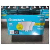 1 Case - EcoSmart 35W Equivalent Bright White MR16 GU10 Dimmable LED Light Bulb (3-Packs) 5bSM350SGU1011