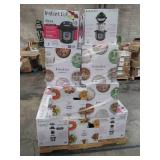 WHOLESALE MIXED PALLET OF INSTA POT PRESSURE COOKERS!