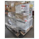 WHOLESALE MIXED PALLET OF MISCELLANEOUS SMALL APPLIANCES, FURNITURE AND MORE!