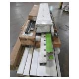 WHOLESALE MIXED PALLET OF MISCELLANEOUS DECK AND FENCING ITEMS AND MORE!