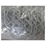Fencer Wire 6 ft. x 50 ft. 20-Gauge Poultry Netting with 2 in. Mesh, NB20-6X50M2