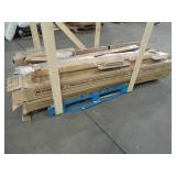 WHOLESALE MIXED PALLET OF MISCELLANEOUS BEDROOM FURNITURE, CEILING GRID BUILDING MATERIALS, BARN DOORS AND MORE!