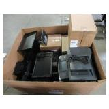WHOLESALE MIXED PALLET OF COMPUTER MONITORS, HEADSETS, PRINTER AND MORE!