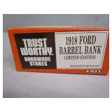 (New in Box) 1918 Ford Barrel Truck Die Cast Bank