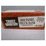 (New in Box) 1932 Ford Panel Truck Die-Cast Bank