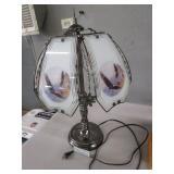 Eagle Table Lamp & Vintage Look Radio