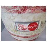 Vintage Copper Platter, Ice Cream Maker, Coke Cooler, Picnic Basket