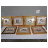 "(7) S&N Duck Stamp Prints 21""x21"" (see pics)"
