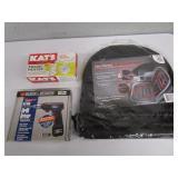 (New) Heated Car Cushion, Cordless Drill, Engine Heater