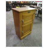 "Vintage Icebox Look Ducks Unlimited Cabinet 16""x24""x41"""