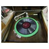 "Vintage Columbia Grafonola & Records 20""x21""x46"""