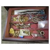 "Jewelry Case Full of Jewelry 14""x15""x40"""