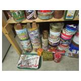 Large Lot of Collectible Tins