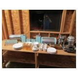 Vintage Kitchen Items & China Set