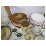 Plates, Cups & Misc.