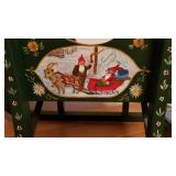 Ornate Rosemal Christmas Sleigh