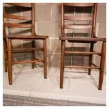 Primitive Farmhouse Chairs