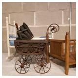 Dolls Cradles and Carriages