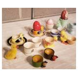 Charming Egg Cup Collection
