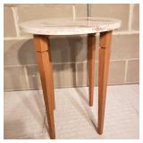 Modern Styled Marble Side Table