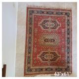 Oriental Area Rug 43 x 61