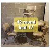 60s Retro Kitchen Table and Chair Set