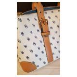 Dooney & Bourke White Monogram Handbag Purse