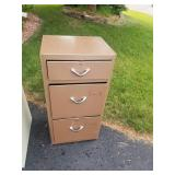 Collection of 5 Aluminum Filing Cabinets