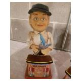 Vintage Pair of Charlie Weaver Bartender Toys