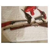 Vintage Collection of Toy Guns and Blasters