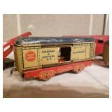 Vintage Metal Toy Train Collection