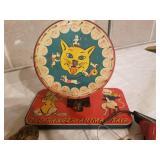 Vintage Metal Animal Toys