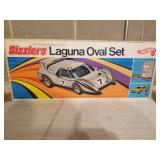 Vintage Hot Wheels Sizzlers Laguna Oval Set