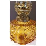 Collection of 6 Petite Vintage L & B Brevete Oil Lamps