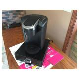 Keurig K Select 5202 Coffee Maker and K Cup Tray