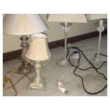 Big Variety Lot of 5 Decorative Lamps