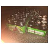 Lot of Brand New Canning Jars