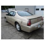 2000 Chevy Monte Carlo SS- Relisted due to non showing bidder