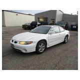 1998 Pontiac Grand Prix- Relisted due to non showing bidder
