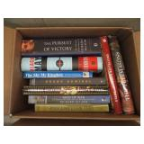 Lot of Historical Non-Fiction Books – Ben Franklin, Black May, God's Battalions, The Pursuit of Victory, To End all Wars, Abandon Ship, etc.