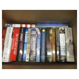 Lot of Historical Non- Fiction Books including: Janes Encyclopedia of Aviation, Thermopylae, Ship of Ghosts, Wahoo, Band of Brothers, etc.