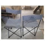 Outdoor Patio & Camping Chairs, (2)...