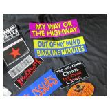 Lot of Stickers (Tool, Rage Against...