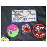 Lot of Patches (Peace, Tweety, Road...